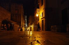 Sibenik bei Nacht