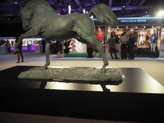 #fredericjager #horse Sculpture in front of our booth #lovely #art