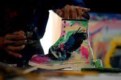 Custom Doc's by Mexican artist Nicolás Guzmán