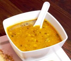 Dhal, sometimes spelled dahl or dal, is a staple of Indian vegetarian cuisine. This easy recipe is for a basic vegetarian and vegan yellow split-pea dhal. Serve with rice, or, add extra liquid to make a more soup-like dhal. Pea Recipes, Indian Food Recipes, Soup Recipes, Vegetarian Recipes, Cooking Recipes, Ethnic Recipes, Vegetable Recipes, Bulk Cooking, Dinner Recipes