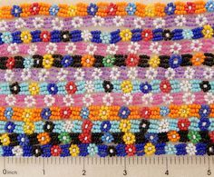 Lot 12 Assorted Glass Seed Bead Beaded Flower Stitch Necklaces Party Favors Gift