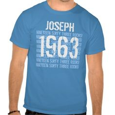 ==>>Big Save on          1963 or Any Year 50th Birthday Gift Blue V02 T-shirt           1963 or Any Year 50th Birthday Gift Blue V02 T-shirt This site is will advise you where to buyShopping          1963 or Any Year 50th Birthday Gift Blue V02 T-shirt Review from Associated Store with this...Cleck See More >>> http://www.zazzle.com/1963_or_any_year_50th_birthday_gift_blue_v02_tshirt-235065406441106081?rf=238627982471231924&zbar=1&tc=terrest