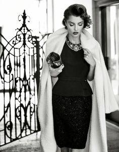Glamour, Rendez Vous in Atelier by Signe Vilstrup La Coquette Italienne lost in Paris  www.lacoquetteitalienne.com