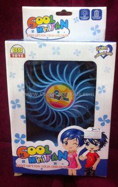 ของเล่นเด็ก พัดลมจิ๋ว ~ 95.00 บาท >>