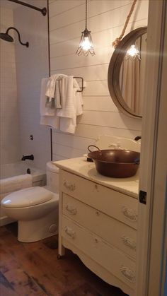 My farmhouse bathroom reno