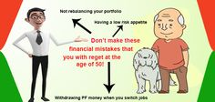 Don't make these Financial Mistakes that You will Regret at the age of 50. #financial_mistakes #return #tax More info @ http://moneydial.com/dont-make-financial-mistakes-will-regret-age-50/