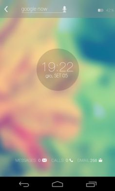 ANDROID 5 CONCEPT REVISITATION