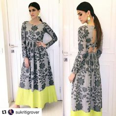 Excited to share this item from my shop: VeroniQ Trends- New Bollywood Style Pure Crystal Silk with Digital Print Floral Pattern Dress, Kurti,Long dress Fully Stitched Source by sushanva clothes dresses Indian Designer Outfits, Indian Outfits, Designer Dresses, Kurta Patterns, Dress Patterns, Pattern Dress, Trendy Dresses, Fashion Dresses, Trendy Outfits