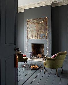 stencil on wood floor | Love it or Leave it | Painted Wood Floors | Beautiful Habitat Design ...