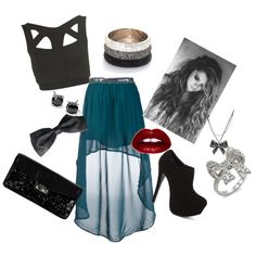 Something Like A Party by bria-starling on Polyvore featuring polyvore fashion style Topshop Crafted Steve Madden Cole Haan Fantasy Jewelry Box Blue Nile Betsey Johnson Lime Crime