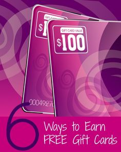 6 Ways To Earn Free Gift Cards | KansasCityMamas.com