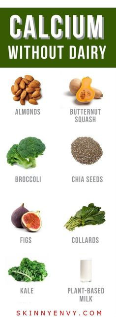 Plant based calcium sources! There's more than this list, but it's a good start!