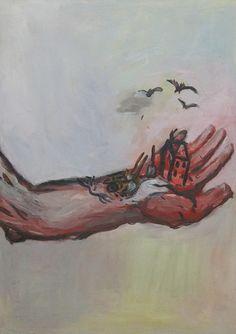 Georg Baselitz, Die Hand - Die Hand Gottes, 1964/65