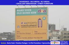 Creative Outdoor Advertising Through Billboards for Banks At Peddar Road - Global Advertisers