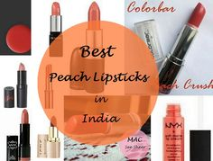 Top Peach Lipsticks for Medium/Dark Indian Skin Tones By Contributor: Karishma Coral/ Peach are such a lovely colour. It's a colour that spells out simplic