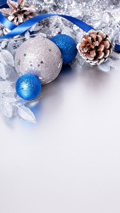 Christmas Silver and Blue iPhone Plus Wallpaper Christmas Phone Wallpaper, New Year Wallpaper, Winter Wallpaper, Wallpaper Gallery, Christmas Wallpaper, Christmas Background, Gold Christmas Decorations, Christmas Frames, Etsy Christmas