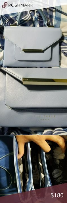 Ted Baker Crossbody purse Used couple of times. Such a cute purse have couple of wear in the front and handle barely noticeable on the pictures. Ted Baker Bags Crossbody Bags