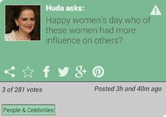 Huda Elwerr posted this question on VotR. What do you think?