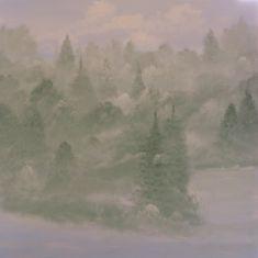 oil on canvas, 100x100cm. Oil On Canvas, Canvas Art, Berlin, Original Art, Original Paintings, Impressionism Art, Mists, Buy Art, Saatchi Art
