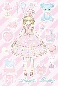 anime art illustrations doll - Buscar con Google