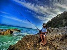 La passione per la pesca...non ha età....