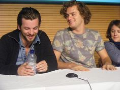 Gethin Anthony and Finn Jones (Renly and Loras)...is it wrong to ship them in real life, too?