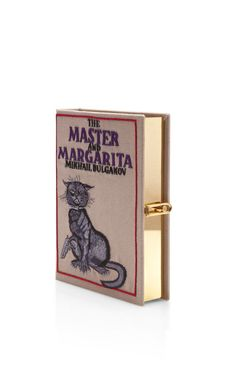 Limited Edition The Master And Margarita Book Clutch by Olympia Le-Tan for Preorder on Moda Operandi