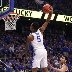 HALFTIME: The Cats lead Texas A&M 50-27! #BBN
