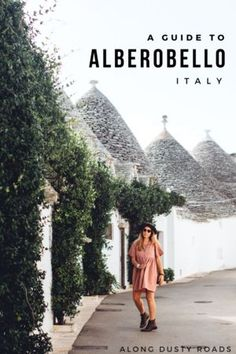 Our short guide to Alberobello, Italy the pretty little town of trulli - whether you're just passing through, or plan on hanging out for a couple of days | Things to do in Alberobello | Where to stay | How to get there | What to do | Italy | Puglia | Puglia road trip
