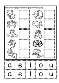 Spanish Lessons For Kids, Teaching Spanish, Teaching Kids, Preschool Education, Preschool Worksheets, Preschool Activities, Image Restaurant, English Grammar For Kids, Pre Writing