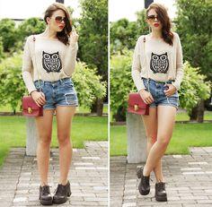 Axparis Owl Sweater