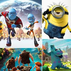 13 Animated Movies For Kids in 2013
