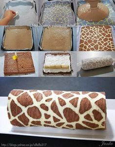 Funny pictures about Fantastic Giraffe Swiss Roll. Oh, and cool pics about Fantastic Giraffe Swiss Roll. Also, Fantastic Giraffe Swiss Roll. Food Cakes, Cupcake Cakes, Ghost Cupcakes, Oreo Cupcakes, Wilton Cakes, Cake Recipes, Dessert Recipes, Yummy Recipes, Amazing Recipes