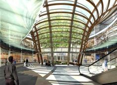 Underground Shopping Mall in mexico | Move over water fountain. Mexico's new underground mall will feature ...