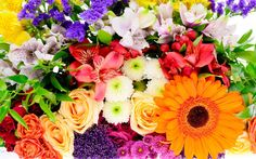 Flower Bouquet jigsaw puzzle in Puzzle of the Day puzzles on TheJigsawPuzzles.com