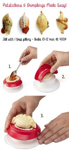 Potstickers + Dumplings Made Easy! @jmchao