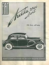 1934 FIAT 527 ARDITA 2500 SPORT