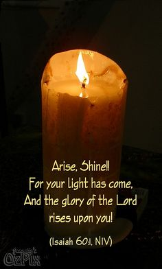 Arise and shine!!!