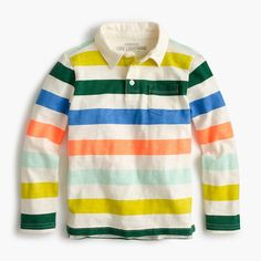 crewcuts Boys Rugby Polo Shirt (Size 6-7 Kid)