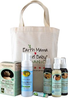 Earth Mama Angel Baby Organics - Pregnancy Essentials Bundle.