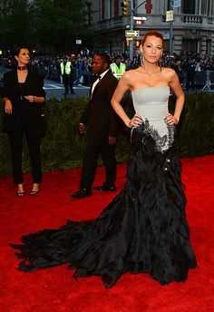 """Blake Lively - The Met Gala 2013 """"PUNK: Chaos to Couture"""" exhibition at the Metropolitan Museum of Art"""