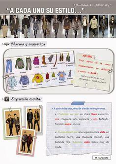 CLASE DE ESPAÑOL: A cada uno su estilo #learn #spanish #kids