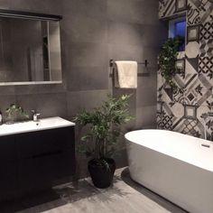 Bildresultat för kakel badrum Clawfoot Bathtub, Bathrooms, Bathroom, Full Bath, Bath