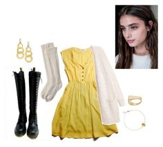 """""""India"""" by superrr-1 ❤ liked on Polyvore featuring Dr. Martens, Toast, Marco Bicego, Gurhan and LC Lauren Conrad"""
