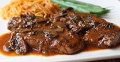 Food Wishes Video Recipes: Beef Tenderloin Medallions with Caramelized Tomato Mushroom Pan Sauce – I'm Glad I Used All Clad