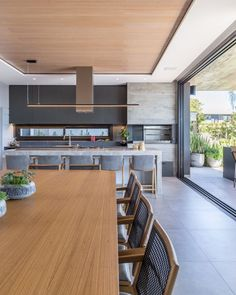 This pin of kitchen design & decor found on Hometalk and around the web. Brought to you by Kitchen Lovers! Open Plan Kitchen Living Room, Home Decor Kitchen, Kitchen Interior, Home Interior Design, Home Kitchens, Interior Balcony, Outdoor Kitchens, Outdoor Rooms, Room Interior