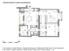 Secret room apartment by Architects/Prague _ AFTER Sweet Home, Secret Rooms, Prague, Cosy, Architects, Floor Plans, Sport, Design, Style