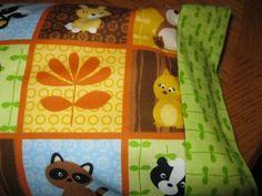 NEW My WOODSIE Friends MINI Pillowcase kids/travel pillowcase | MadeAtNanas - Housewares on ArtFire