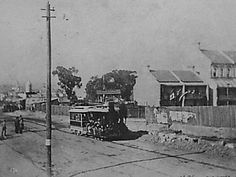 A tram on the way to Milsons Point in 1898.