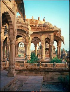 Bada Bagh, Jaisalmer is a garden complex about . - Bada Bagh, Jaisalmer is a garden complex about …. India Architecture, Ancient Architecture, Beautiful Architecture, Gothic Architecture, Jaisalmer, Varanasi, Udaipur India, India India, Jaipur